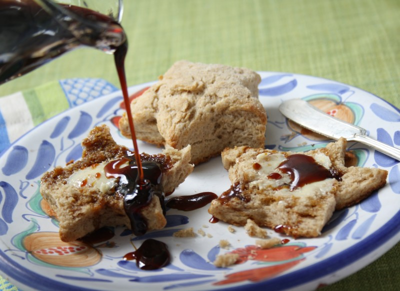 fluffy biscuits with molasses