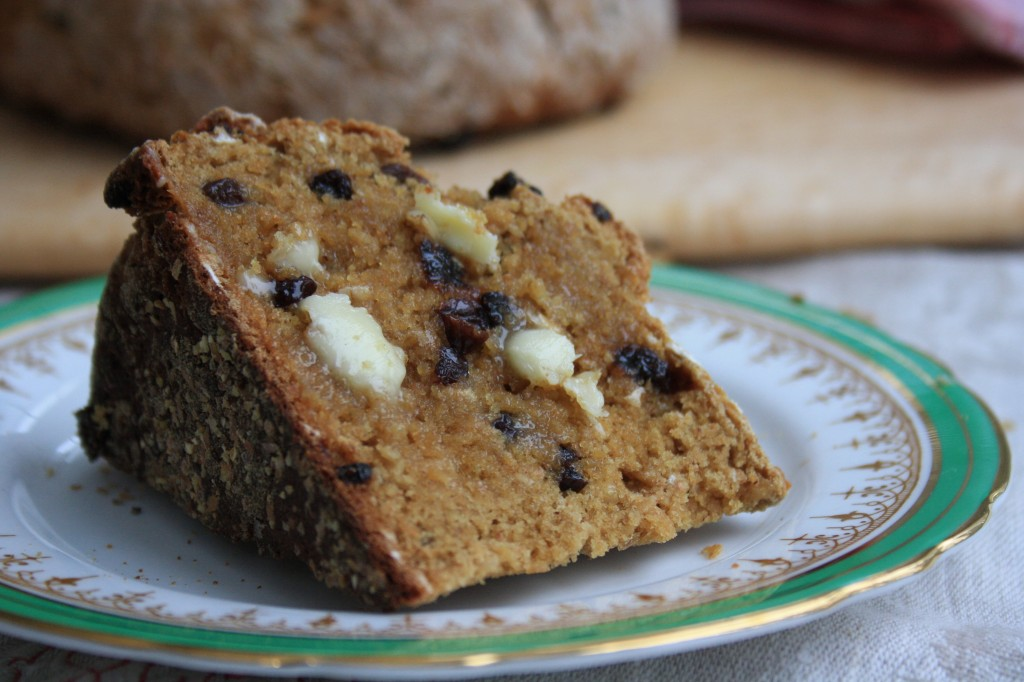 Irish soda bread with molasses a wholesome hearty loaf that's quick to mix up and oh so lovely