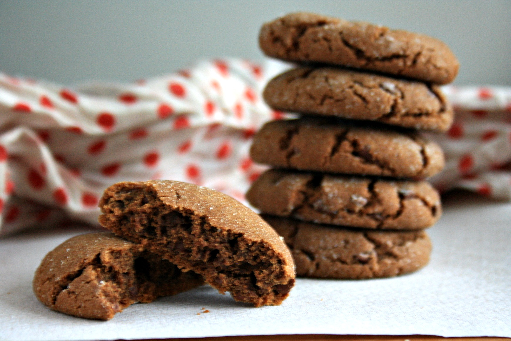 Molasses crinkle cookie recipe