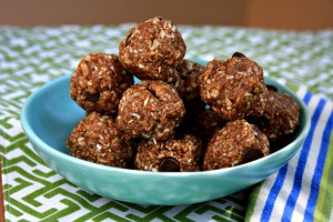 Almond butter energy balls are easy, speedy and gluten free