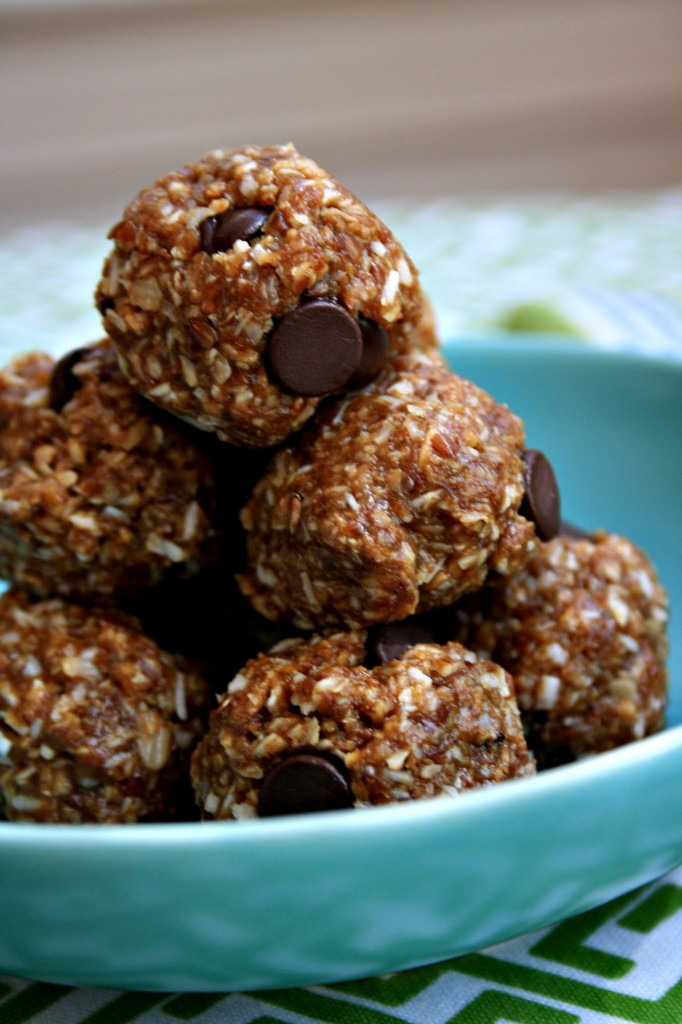 almond butter energy balls are no-bake, speedy and gluten free