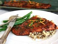 Five-spice-glazed-salmon