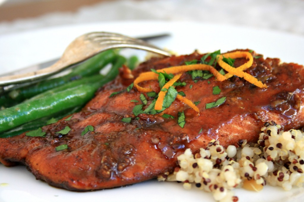 Five spice glazed salmon 2