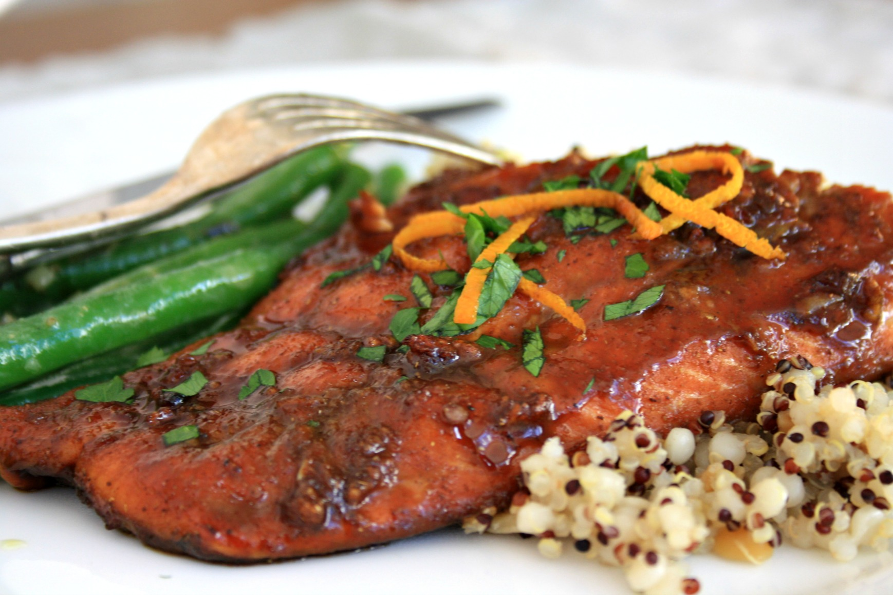 Recipe for five spice glazed salmon is dinner party delicious five spice glazed salmon is dinner party delicious exotic and easy forumfinder Gallery