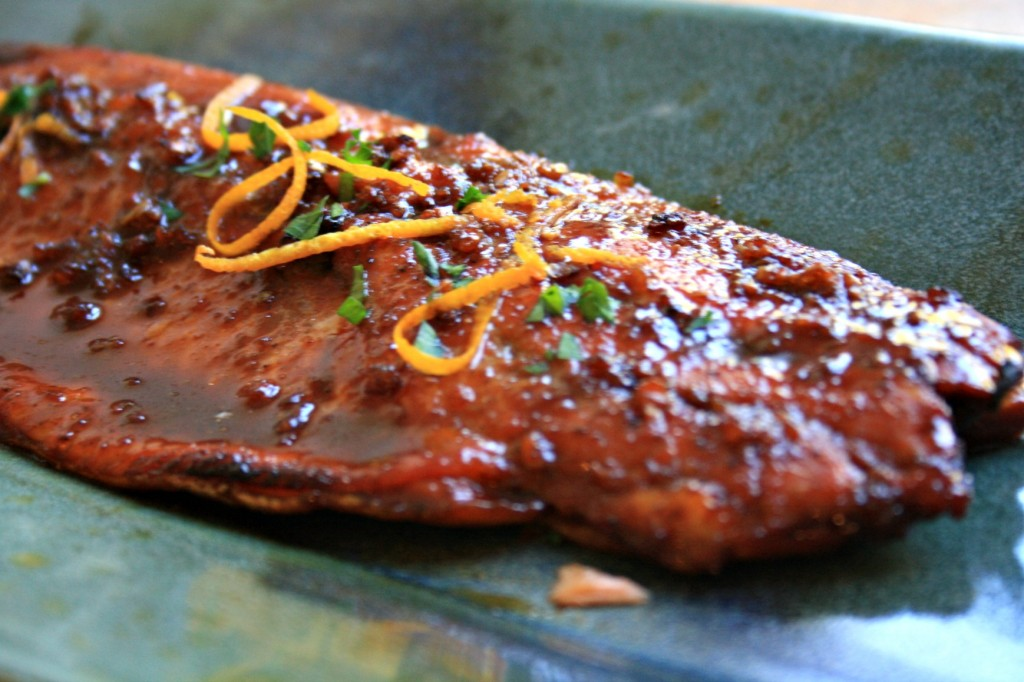 Five spice glazed salmon is dinner-party-delicious, exotic and easy