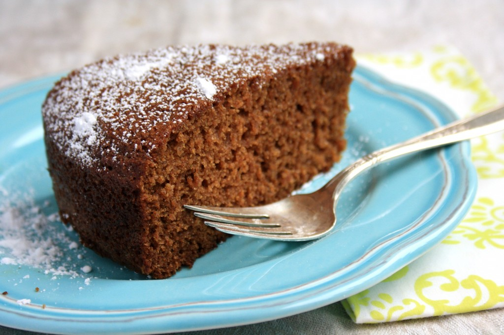 Easy Apple spice cake is a moist and wholesome