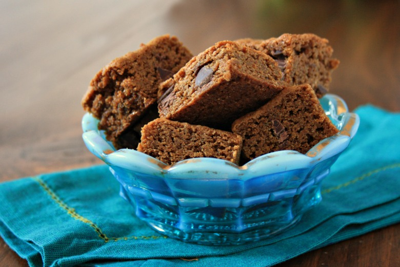 Scrumptious Brown butter molasses blondies