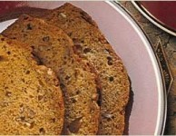 decadent banana bread with nuts