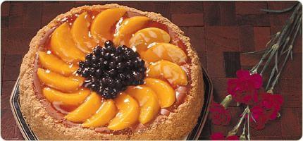 Peach Blueberry Cheesecake