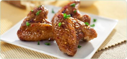 Molasses Chicken Wings