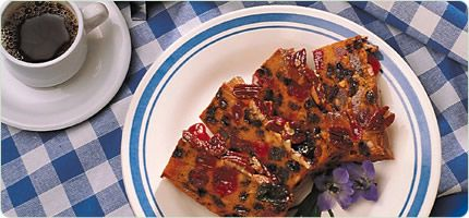 Molasses Fruit Bread