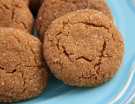 orange spice crackle cookies