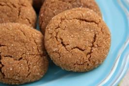 orange spice crackle cookies
