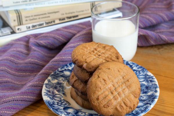 biscuit beurre arachide