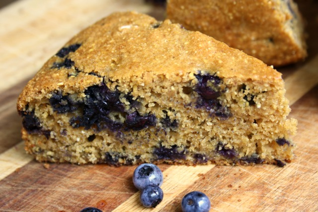 blueberry buttermilk cornbread