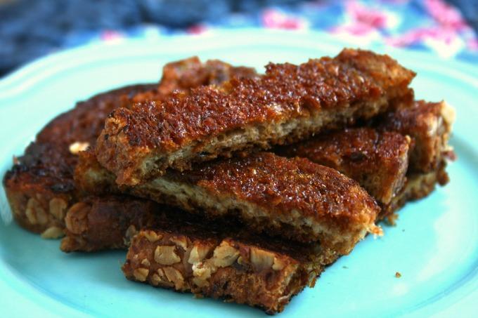 Toast caramel au beurre, un délice dont on ne se lasse pas