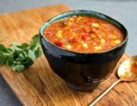 soupe lentilles poivron