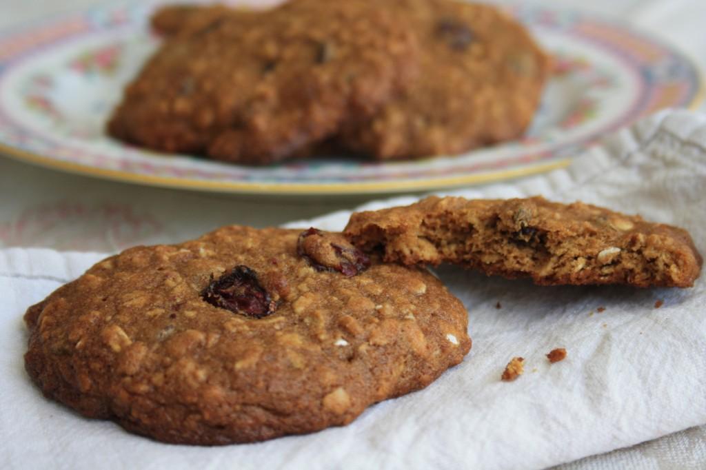 biscuits à l'avoine et à la mélasse