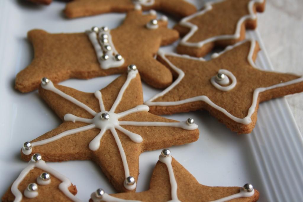 biscuits de noel avec glaçage