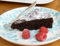 Gâteau au chocolat peu calorique
