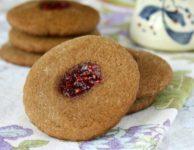Biscuits mous à la mélasse à l'empreinte