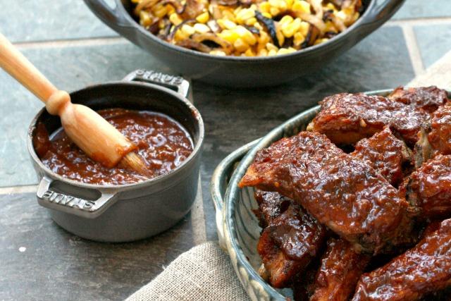 Sauce barbecue douce au piment et à la mélasse