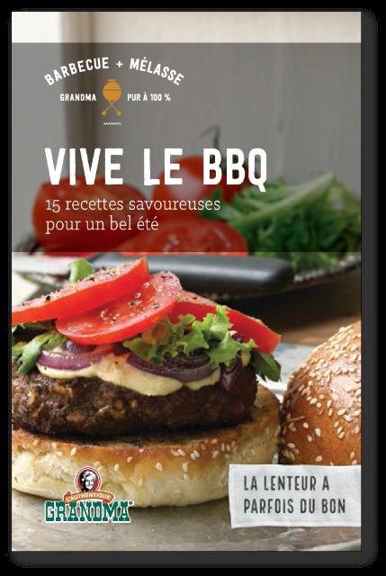 Vive le BBQ : 15 recettes savoureuses. Nouveau cyberlivret pour le barbecue