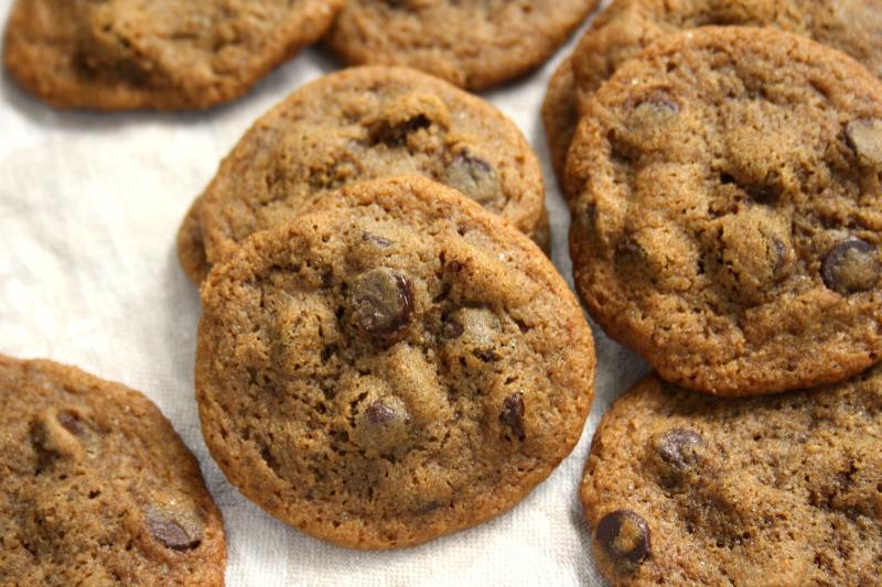 Biscuits tendres aux pépites de chocolat et à la mélasse d'Anne-Marie