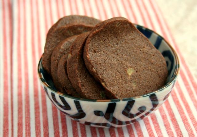Biscuits au gingembre et au chocolat