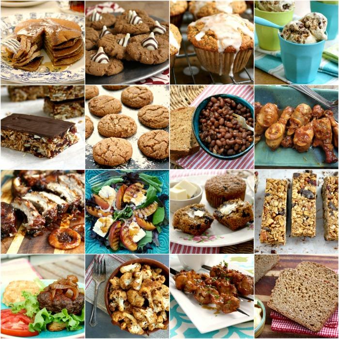montage de photos de recettes