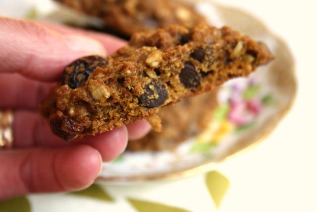 Biscuits à l'avoine et à la citrouille