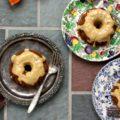 Gâteau à la citrouille glacé au fromage à la crème à la mélasse