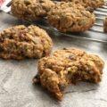 Biscuits aux flocons d'avoine et brisures de chocolat à faible teneur en sucre
