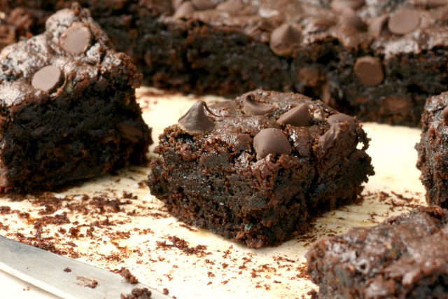 Brownies santé aux courgettes