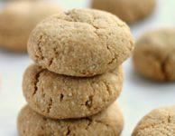 Biscuits à l'amande faciles : belles saveur et texture; faibles en glucides et en calories; sans gluten ni sucre raffiné; végétaliens et paléo.