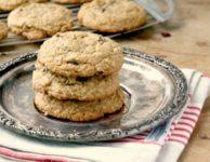 Biscuits à l'avoine et aux raisins épais et moelleux