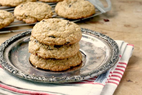 Biscuits à l'avoine moelleux aux raisins