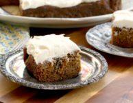Gâteau aux carottes santé pour grand groupe