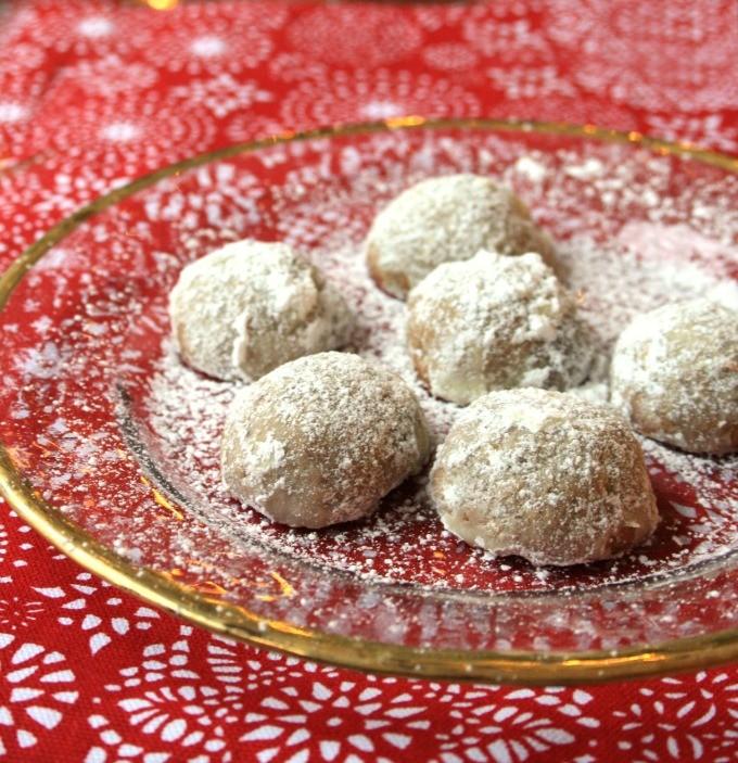 Biscuits fondants aux noix et à la mélasse