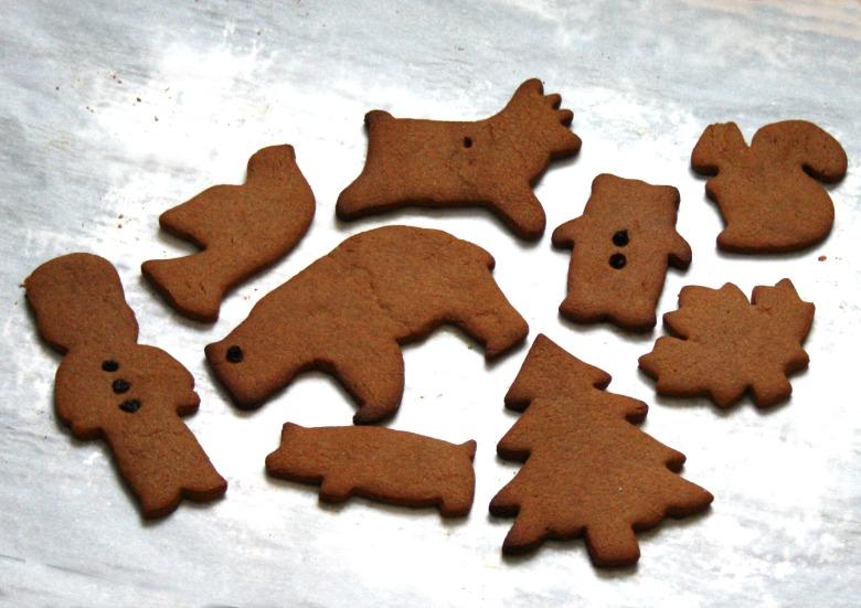Biscuits au gingembre parfumés à la cardamome