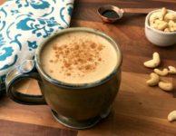 Café latté noix de cajou