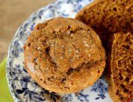Muffins santé au pain d'épice