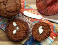 Muffins au pain d'épices et babeurre