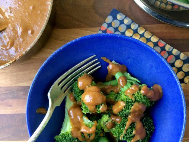 Sauce piquante aux arachides