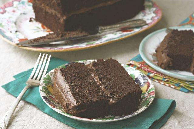 gâteau au chocolat et à la mélasse
