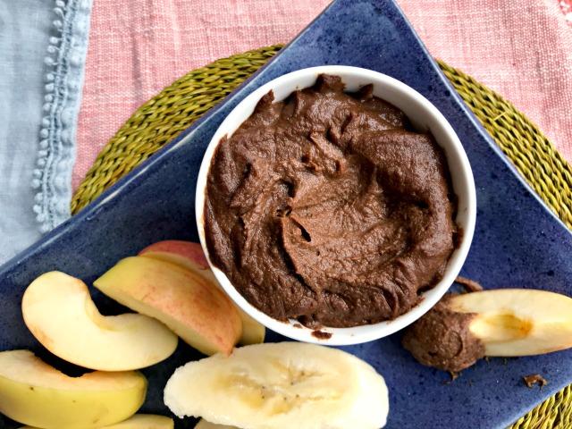 Houmous dessert au chocolat