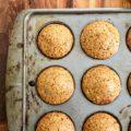 muffins-pains de maïs à la mélasse