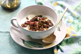 granola santé chocolat