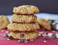 biscuits avec pépites de chocolat et avoine