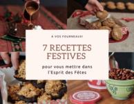 7 recettes noel